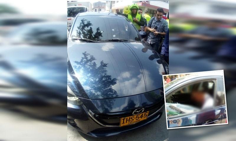 Asesinan a hombre que se movilizaba en un Mazda 3 sobre la Autopista sur de Cali