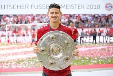 James podría ganar concurso en la Bundesliga por mejor gol de la temporada