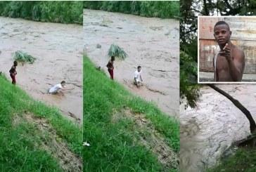 Video: Joven se lanzó a las aguas del río Cali en medio de fuerte caudal, está desaparecido