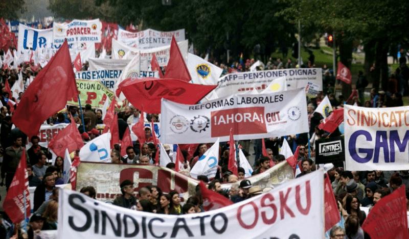En conmemoración del Día del Trabajo, organizaciones sindicales marcharon en Cali