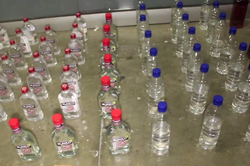 Más de 200 botellas de licor fueron incautadas este sábado durante concierto en Cali