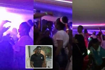 Video: un hombre muerto y otro herido dejó balacera en discoteca de Juanchito