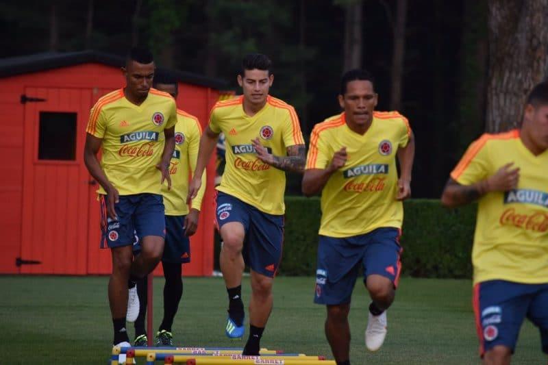 Rumbo a Rusia: la Selección Colombia llegó a Milán, Duván Zapata es la novedad