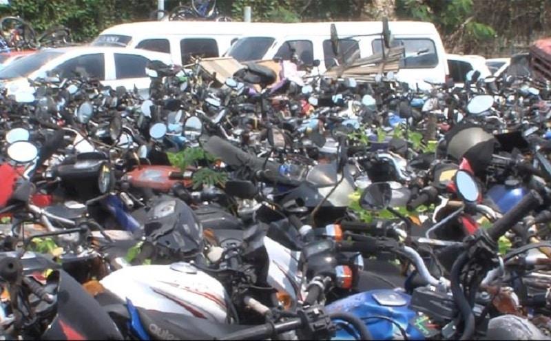 Más de 25.000 vehículos serán desintegrados por abandono en los patios oficiales de tránsito