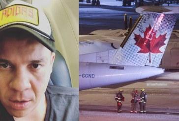 """Casi nos morimos"": tremendo susto de Alzate en un vuelo de Canadá"