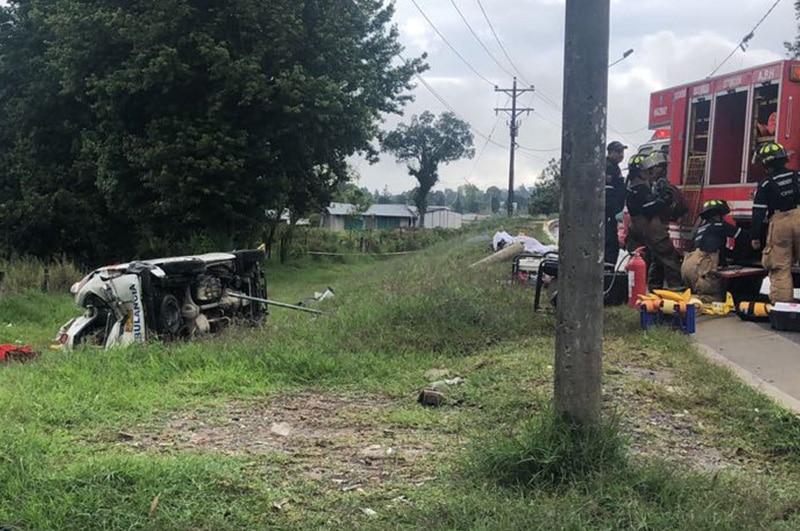 Tres personas perdieron la vida en accidente en el Cauca