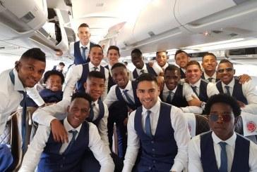 La selección Colombia partió con 50 millones de corazones a Rusia