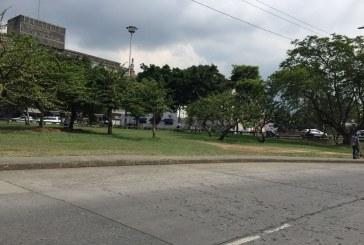 Venezolanos duermen en campamentos junto a la Terminal de Transportes