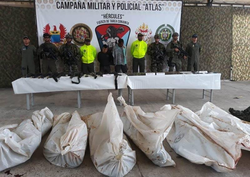 Contundente golpe al anillo de seguridad de alias Guacho en Tumaco
