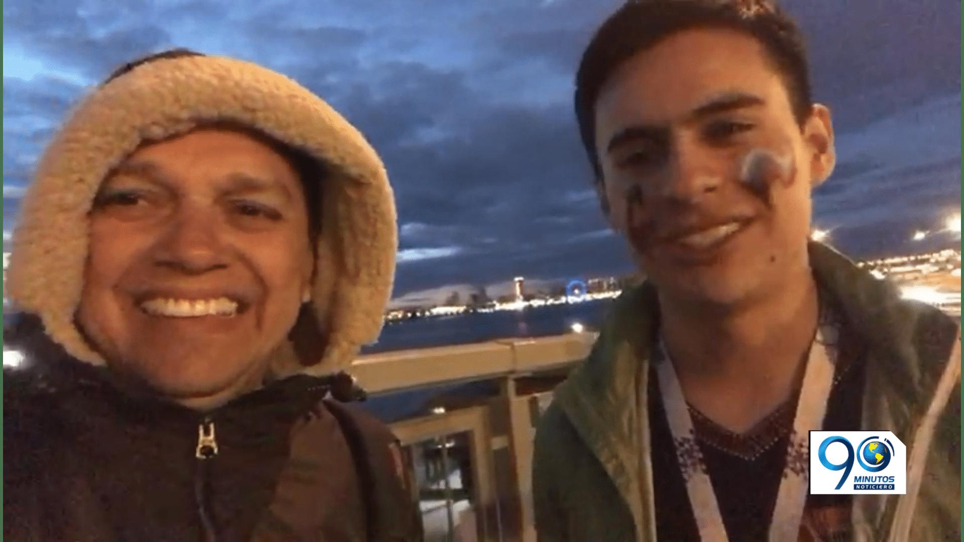 'El Gato' conoció, de la mano de un colombiano, algo de historia rusa