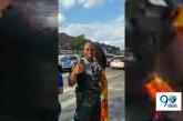 ¡Hasta los policías! celebraron con los colombianos en Nueva York