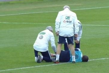 ¡Alarmas en Francia! Kilyan Mbappe salió golpeado y está en algodones