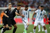 Vivo: Sin goles termina la primera parte entre Argentina y Croacia