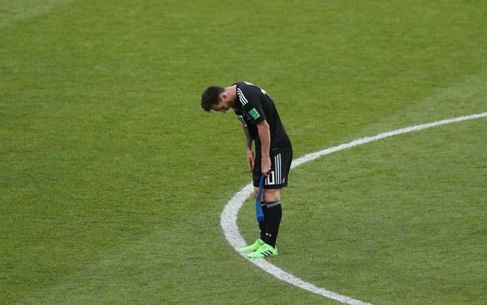 """Con un Messi que """"no se le da"""", Argentina empató con Islandia en el debut"""