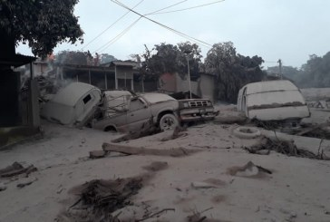 Ya son 75 muertos y 200 desaparecidos por erupción de volcán en Guatemala