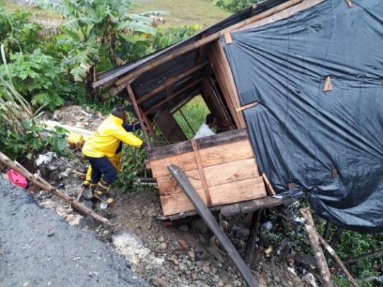 El barrio La Independencia fue el mayor afectado por desbordamiento en Buenaventura