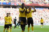 Bélgica se divirtió ante Túnez y clasificó a Octavos
