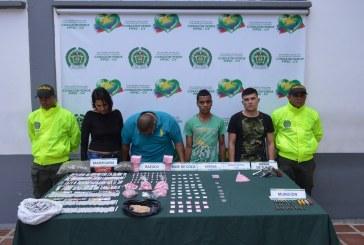 Cae banda 'La Villa' dedicada al tráfico de estupefacientes