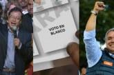 Qué piensan los candidatos a la presidencia del voto en blanco