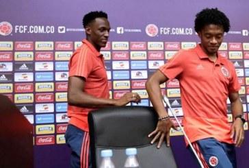 Cuadrado y Mina dan sus sensaciones tras la victoria ante Polonia
