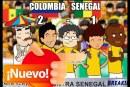 Desocupe Masivo: Colombia – Senegal