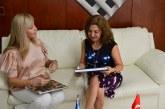 Embajadora de Turquía y Gobernadora del Valle encabezaron comisión de empresarios