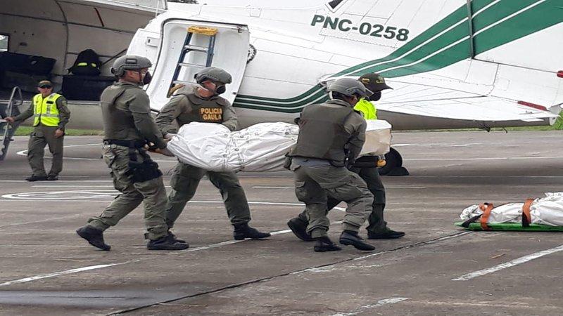 Familiares de periodistas ecuatorianos asesinados llegaron a Cali