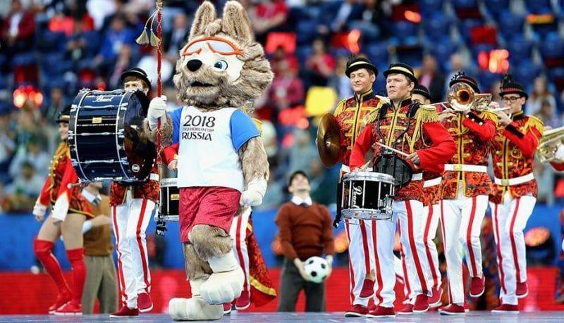 Finalizó la espera: Rusia inauguró el Mundial lleno de colores