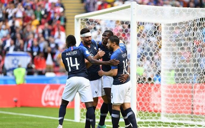 Con la inauguración del VAR, Francia derrotó a Australia