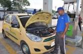 Taxistas preocupados por desabastecimiento de gas en Cali