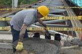 Inició fundición de pilotes que soportarán el puente Avenida Ciudad de Cali
