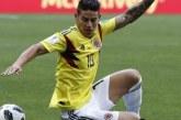 James Rodríguez es duda en la titular para el duelo con Polonia