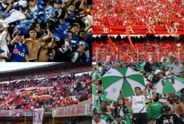 En Julio quedará listo decreto para ingreso de las 'barras bravas' a estadios de fútbol