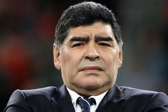 ¿Qué le pasaba a Maradona en pleno entrenamiento con Dorados de Sinaloa?