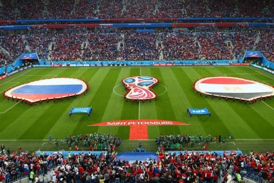 Vivo: Ya se juega en San Petesburgo el duelo entre Rusia y Egipto