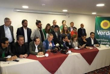 Sector de la Alianza Verde hace oficial su apoyo a Gustavo Petro