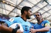 En un discreto partido, Suárez le entregó la clasificación a Uruguay