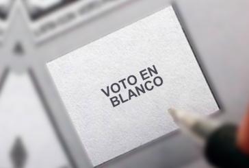 Qué pasará con el voto en blanco para la segunda vuelta presidencial