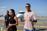 Cristiano Ronaldo aterriza en Turín y será presentado el próximo lunes
