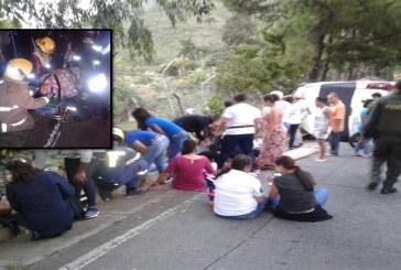 Accidente en la vía que comunica a Yumbo con La Cumbre, deja 18 heridos
