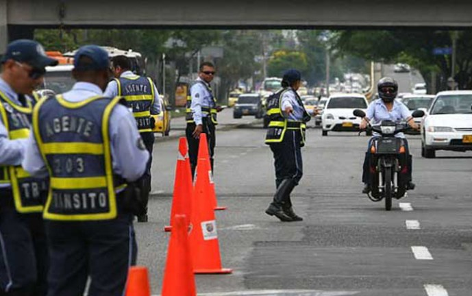 Agentes de tránsito resultaron amenazados durante operativo de control