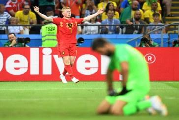 Brasil se queda sin la sexta copa, Bélgica lo eliminó del Mundial