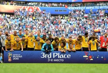 Bélgica logró el tercer puesto tras vencer a Inglaterra en el Mundial Rusia 2018
