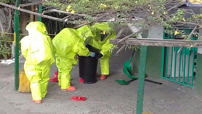 Paquete sospechoso en barrio de Cali tenía en su interior material radiactivo, área fue cerrada