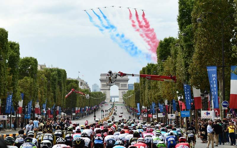 Momentos positivos que dejó el Tour de Francia para los deportistas colombianos