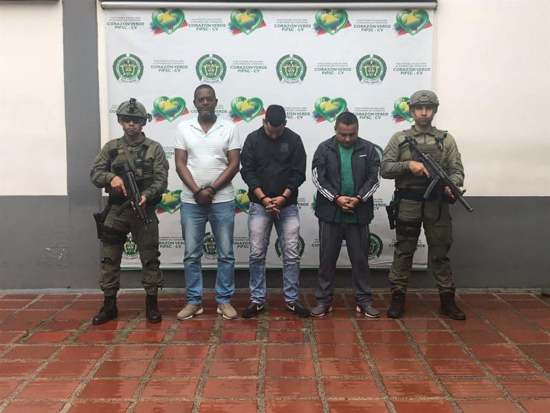 Caen en Cali y Tumaco tres hombres pedidos en extradición por narcotráfico