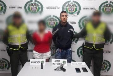 Policía capturó en flagrancia a pareja que cometía un robo en Guacarí, Valle del Cauca