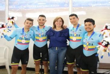 Comité Olímpico Colombiano destacó labor de Clara Roldán al frente de Coldeportes