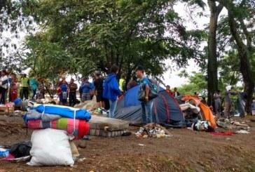 Preparan desalojo de ciudadanos venezolanos por invasión al espacio público en Cali