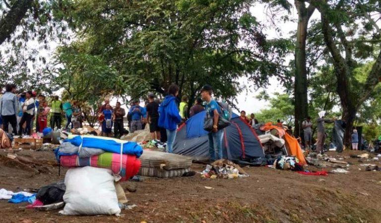 """""""No voy a pagar el transporte, no tenemos cómo"""": Ospina sobre viajes para repatriar venezolanos"""
